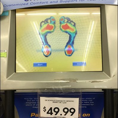 Dr. Scholl's Footmapping