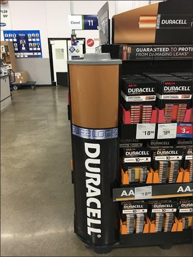 Duracell Coppertop Copper-Sided