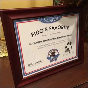 Fidos Favorite V.I.P. Best Western Hotel Feature