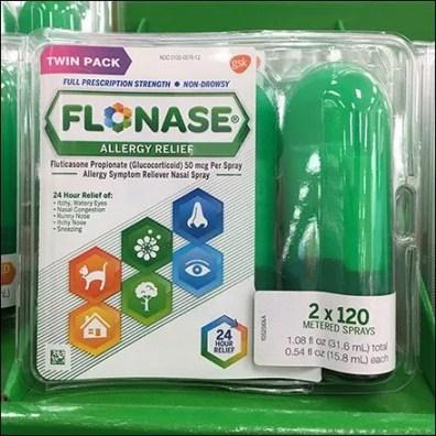 Flonase Color Coded Allergy Medication 3