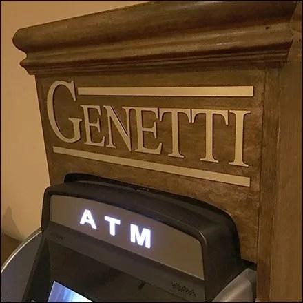 Hotel Wood ATM