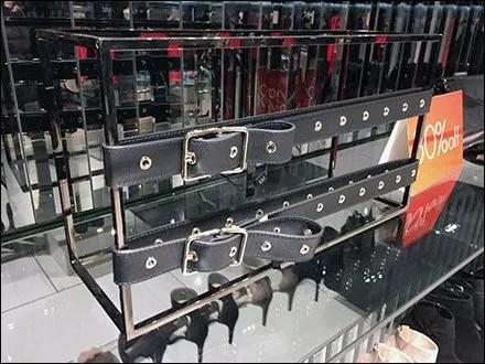 Karen Millen Rectangular Frame For Belts