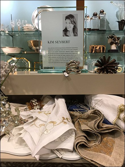Placemat & Napkin Tower At Neiman Marcus