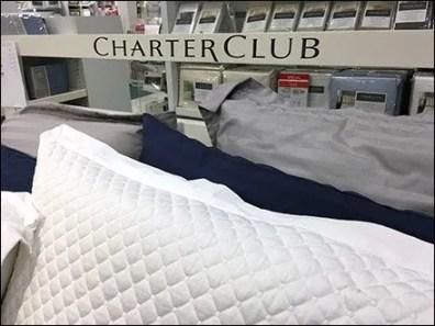 Charter Club Bed Linen Branding at Macys