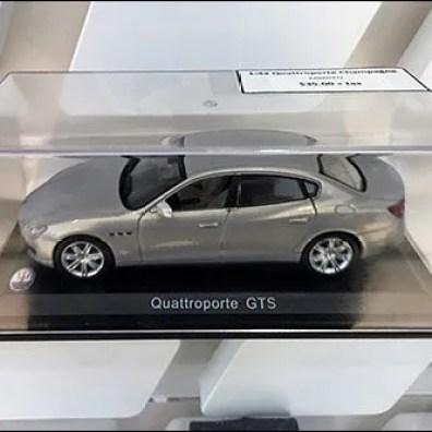 Maserati Miniature Models On Custom Slatwall 2