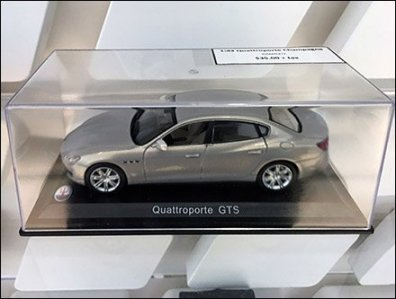 Maserati Miniature Models On Custom Slatwall 2