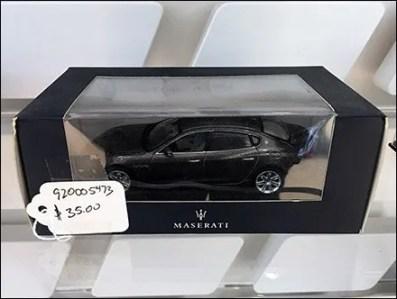 Maserati Miniature Models On Custom Slatwall 3