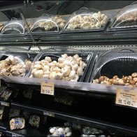 Fresh Mushroom Merchandising Via Individual Domes