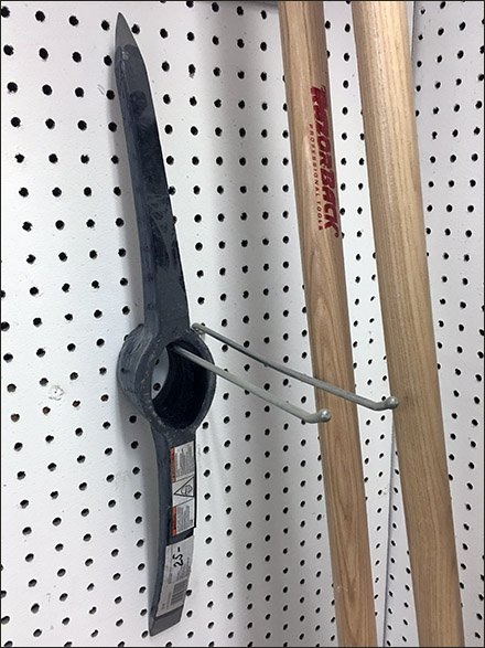 How To Merchandise Pick Axe Heads