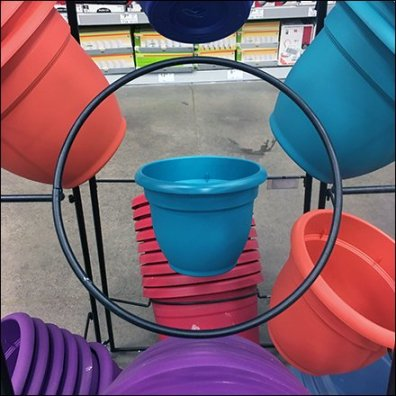 Plant Pot Trapezoidal Tower Rack