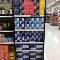 Red Bull Shelf-Based Merchandising Unit