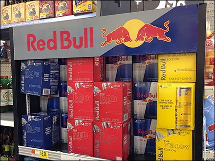 Red Bull Shelf Merchandising Unit