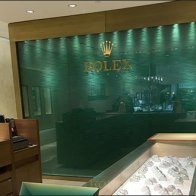 Rolex® Backdrop Branding at Sidney Thomas