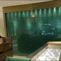 Rolex® Backdrop Branding at Sidney Thomas