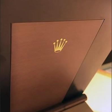Rolex Wrist Watch Mirrir Back Branding 2