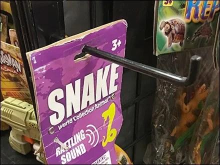 Snake Sell 90º-Tip Grid Display Hook