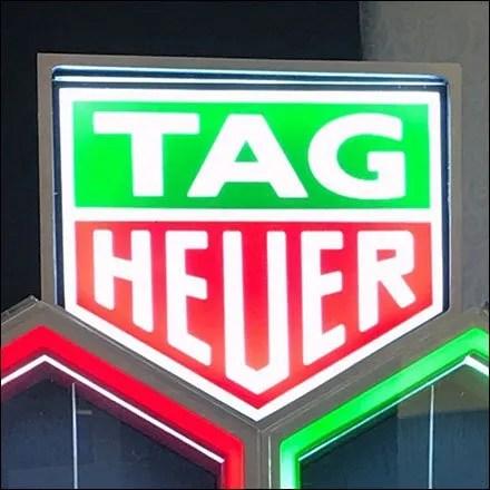 Tag Heuer Neon Logo