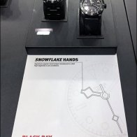 Tag Heuer Snowflake Timepiece Hands