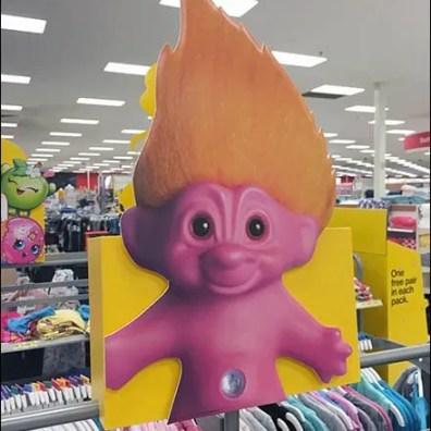 Troll Doll Foamcore Dimensional 2