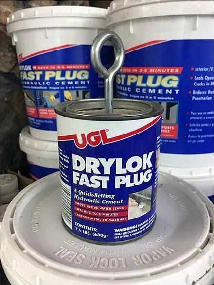 In-Store Eyebolt Demo of UGL Drylok Cement