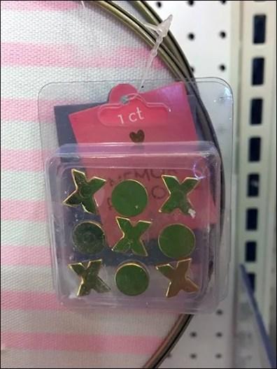 Valentines Day Seasonal Pin Pad Heart Hooked 3