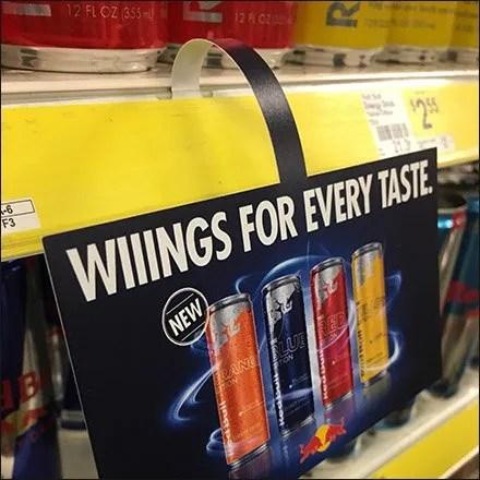 Wiiings For Every Taste Dangler