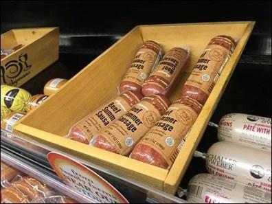 Wood Salami Cooler Tray 3