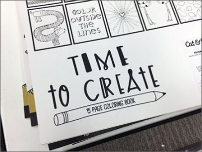 Art Class Coloring Book Cross Sell 3
