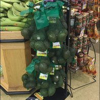 Avocado Mesh Bag Merchandising Rack 3