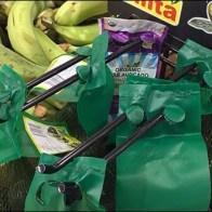 Twin Hook Mesh Bag Merchandising
