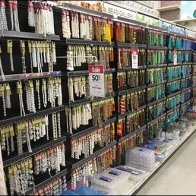 Gravity Hook Crafts Aisle Fitout
