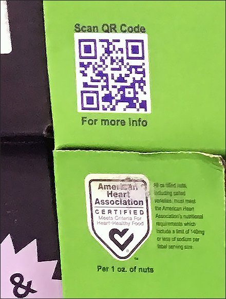 California Pistachio QR Code Pallet Display 3