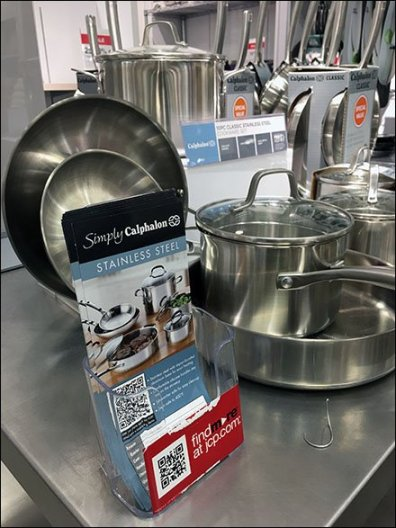 Calphalon Stainless Steel Table-Top Presentation