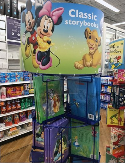 Disney Story Book Spinner Tower 2