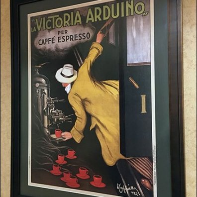 Expresso Coffee As Fine Art In-Store