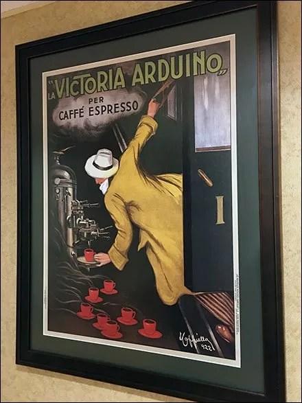 Expresso Coffee As Fine Art In-Store
