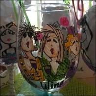 Upgrade To Custom Wine Glasses