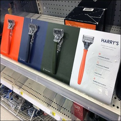 Harry's Razor Color Choices Feature