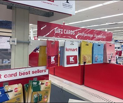 Kmart Pole Mount Gift Card Arm 4