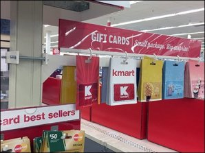 Kmart Pole Mount Gift Card Arm 5