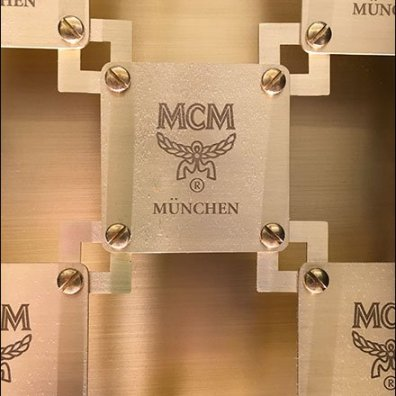 MCM Bag Branded Security Grill 3