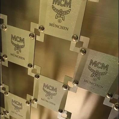 MCM Bag Branded Security Grill