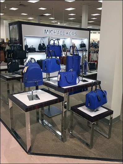 Michael Kors Color Coordinated Flight of Purses