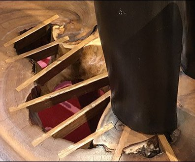 How To Repair Wood Table Rings in Retail