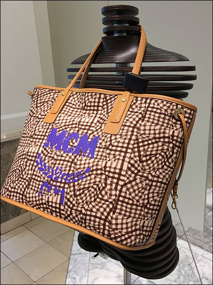 MCM Bag Layup Mannequin By Nordstrom