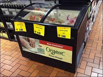 Frozen, Organic, Pizza-Dough-To-Go Coffin Cooler
