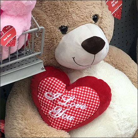 Poor-Posture Plush Teddy Bears for Valentines Day