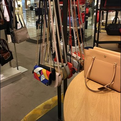 Rectilinear Purse Tower With Boxer Faceout