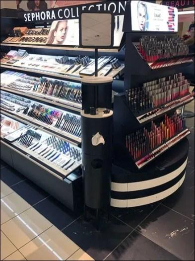 Sephora Circular Cosmetics Makeup Station 3