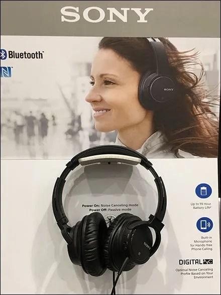 Sony Headphone Try-Me 3